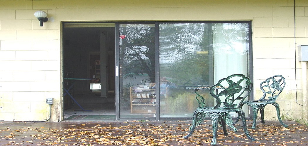 How to Cover Glass Doors for Privacy1